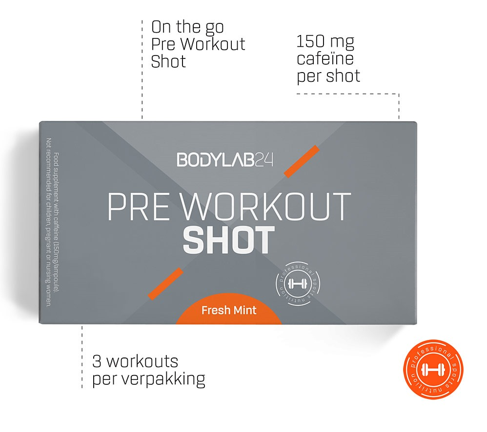 Pre Workout Shots Specs Bodylab24