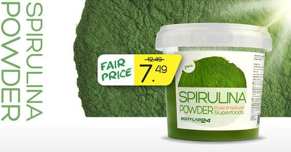 Spirullina bodylab24 superfoods
