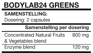 Concentrated Greens 90 caps Bodylab24