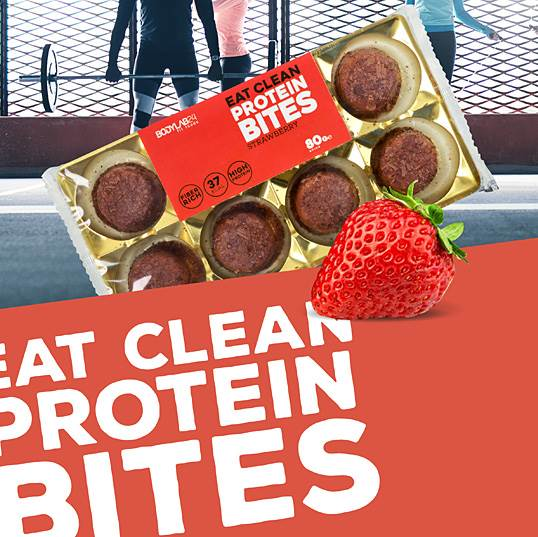 Eat Clean Protein Bodylab24 Fit Foods Strawberry