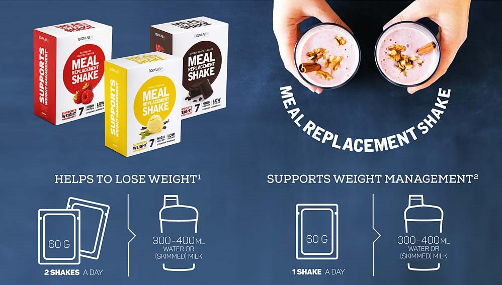 Meal Replacement Shake - Bodylab24 - Bodylab.nl